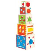 Hape Pyramid Play of