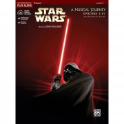 Alfred Music Star Wars 1-6 - Trumpet Instrumental Solos, Book/CD