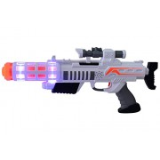 Planet of Toys Space Weapon Big 43Cms (Led Light And Sound) For Kids, Children