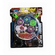 New Pinch Speed Top Metal Fusion Beyblade 4pcs.