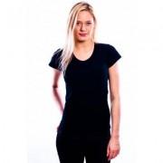 RJ Bodywear Ladies T-Shirt V-Hals Black