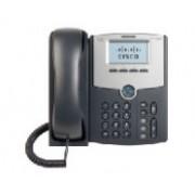 TELEFONO IP CISCO 1 LINEA CON PANTALLA SPA502G, POE Y PC, 2X RJ-45, NEGRO NO INCLUYE FUENTE DE ALIMENTACION