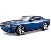 Dodge Challenger Concept, Blue Maisto Premiere 36138 1/18 Scale Diecast Model Toy Car