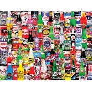 White Mountain Puzzles Soda Pop Jigsaw Puzzle (1000 Piece)