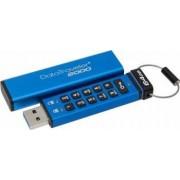 USB Flash Drive Kingston DataTraveler 2000 AES Encryption USB 3.0 64GB