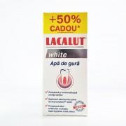Apa de gura Lacalut White - 300 ml + 50% Cadou