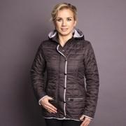 femei jacheta Willsoor 7430 în antracit culoare