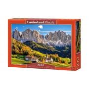Puzzle Santa Maddalena in Val di Funes - Italia, 500 piese
