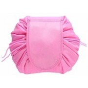 Handy Trendy Cosmetic Bag Drawstring Travel Makeup Bag Pouch Travel Toiletry Kit(Multicolor)