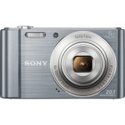 SONY DSC-W810S - Digitalkamera, 20,1 MP, 6-fach Zoom, silber
