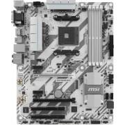 Placa de baza B350 TOMAHAWK ARCTIC, AM4, DDR 4, White LED