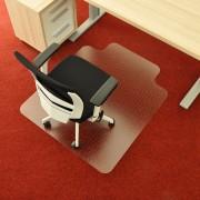 Čirá podložka na koberec 03 pod židli - délka 120 cm, šířka 100 cm a výška 0,3 cm