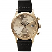 Reloj TRIWA Sort Of Black Lansen Chrono Gold-Dorado