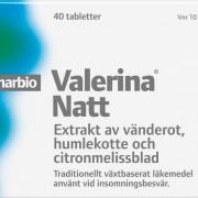Pharbio Valerina Natt 40 Tablett(er) Filmdragerad Tablett