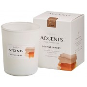 Bolsius Accents scented glass Lounge Luxury 92/76
