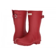 Hunter Original Short Back Adjustable Rain Boots Military Red