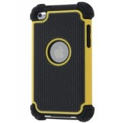 iPod Touch 4 Impact Case - Apple Impact Case (Yellow/Classic Black)