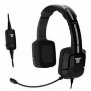 Spelhörlurar med mikrofon Kunai Tritton ST24 svartvitt