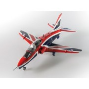 Kit constructie si pictura avion RAF Benevolent Fund BAE Hawk 1:72