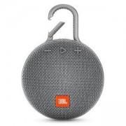 Преносима тонколонка JBL CLIP 3 GRY, Bluetooth 4.1, водоустойчивост – IPX7, сива, JBLCLIP3GRY