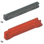 Lego Technic 32 Tooth Long Gear Rack With Housing