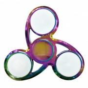 Day Spirit Rainbow LED iluminado Fidget liberando la mano Spinner
