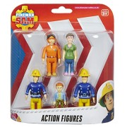 Fireman Sam Action Figures - 5 Figure Pack