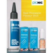 Lichid Tigara Electronica Premium Jac Vapour Real Pineapple 70ml, Nicotina 5,1mg/ml, 80%VG 20%PG, Fabricat in UK, Pachet DiY