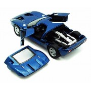 Ford GT Concept, Silver - Showcasts 73297 - 1/24 Scale Diecast Model Toy Car
