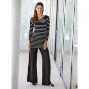 Yala® Bamboo-Shirt oder -Pants, 46 - Schwarz/Weiss - Bamboo-Shirt