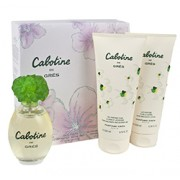 CABOTINE BY PARFUMS GRES 3 PIECE GIFT SET FOR WOMEN