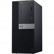 PC Dell OptiPlex 3070, 170WH, Tower, Intel Core i5 9500 3GHz, 256GB SSD, 8GB, Intel UHD 630, Windows 10 Professional, crna, 12mj, Tipk., Miš