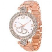idivas 14 Fashion Italian Copper Design Women Analog watch for Girls and Ladies Watch - For Women
