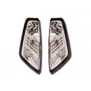 Stopuri cu LED Fiat Punto 188 05- crom