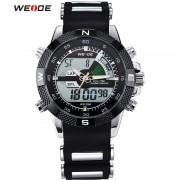 Weide Men's Casual Watch Hodinky Digital LCD Watches With Alarm Black Light Sports Waterproof Quartz Wristwatches zegarki meskie