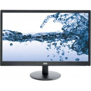 AOC E2270SWHN 21.5 inch Zwart Full HD Matt LED display