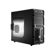 Cooler Master K350 - Tour midi - ATX - pas d'alimentation (ATX / PS/2) - noir - USB/Audio