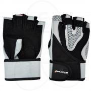 Fitnes rukavice Xplorer sivo-crne XL