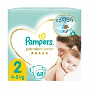 Pampers Premium Care, Mini 2, 4-8 kg, 68 db