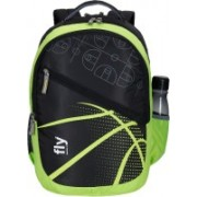 Fly fashion Casual Backpack men Backpack women Backpacks for college men 32 L Backpack(Green, Black)