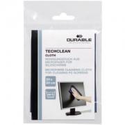 DURABLE · Hunke und Jochheim GmbH & Co. KG DURABLE Techclean cloth Mikrofasertuch, Reinigungstuch für empfindliche Bildschirme von elektronischen Geräten, 1 Stück