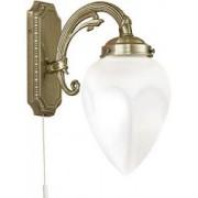 Fali lámpa 1x40W E14 húzókapcsolós bronz Imperial 82744 Eglo