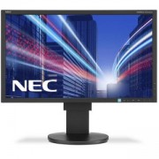 Монитор NEC MULTISYNC EA234WMI, IPS, 23 инча, WIDE, FULL HD, DISPLAYPORT, HDMI, DVI-D, D-SUB, ЧЕРЕН, NEC-MON-EA234WMi