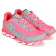 Under Armour UA SCORPIO Running Shoes For Women(Grey, Pink)
