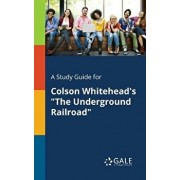 "A Study Guide for Colson Whitehead's ""The Underground Railroad, Paperback/Cengage Learning Gale"