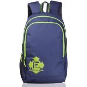 F Gear Castle 24 Liters Rugged Base Navy Blue Green Backpack