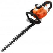 vidaXL Cortador de sebes a gasolina 722 mm laranja e preto