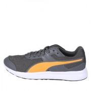 Puma Unisex Grey Escaper Mesh Running Shoes