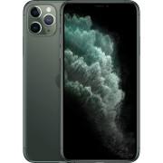 Apple iPhone 11 Pro Max Smartphone (16,5 cm/6,5 Zoll, 64 GB Speicherplatz, 12 MP Kamera), nachtgrün