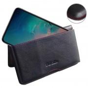 Bolsa Tipo Carteira em Pele PDair para Samsung Galaxy S10 - Preto